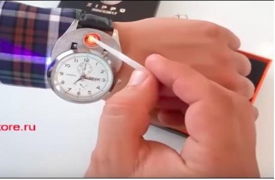 КЕЙС: льем с таргета Instagram на часы-зажигалку Zippo (123.061)