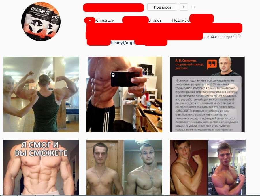 КЕЙС: льем с пабликов Instagram на Orgonite (50.500)
