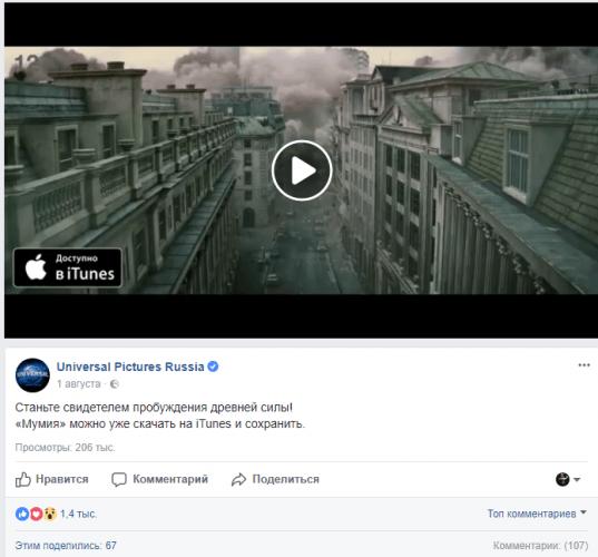 Цели рекламных кампаний Facebook и оптимальные форматы для них