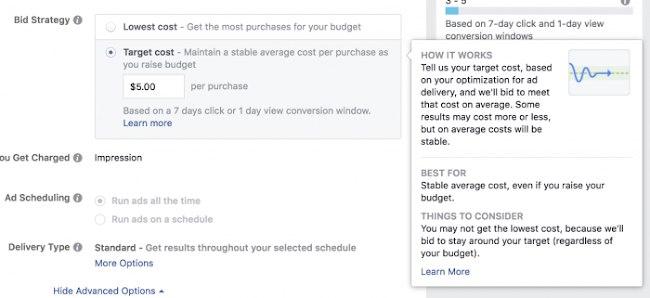 Как добиться самой выгодной цены за конверсию в Facebook