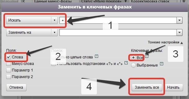 Статус «Мало показов» в Яндекс.Директе