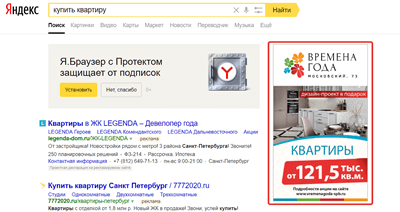 Виды рекламы в Яндексе