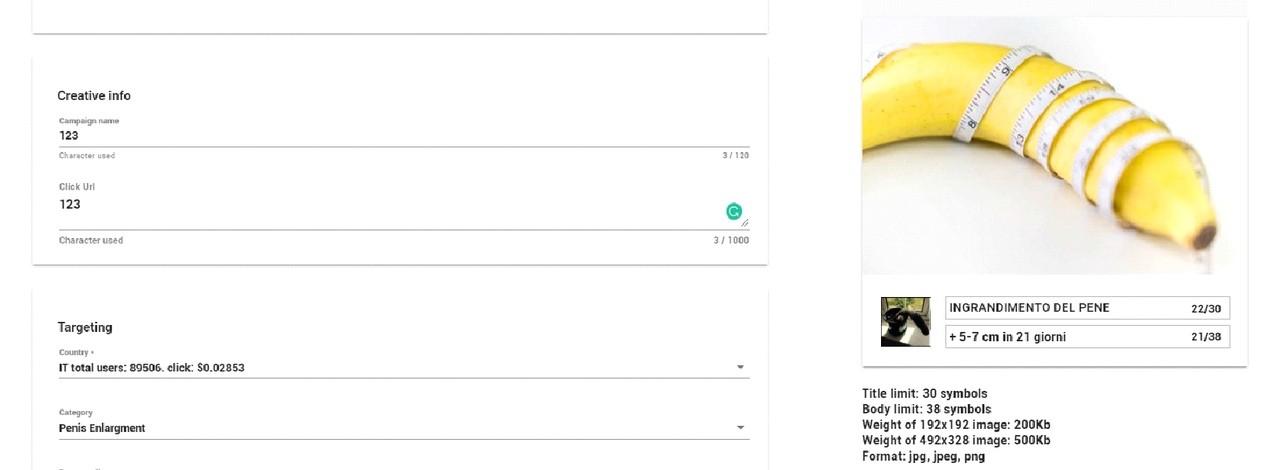 КЕЙС: льем с пуш-уведомлений на Титан-гель (421$)