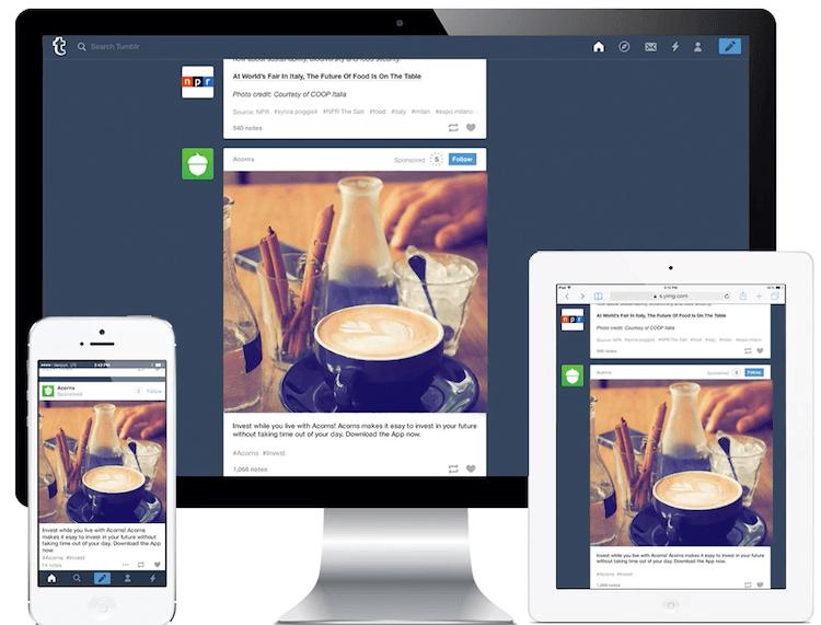 Как работать с Tumblr Ads. Типы объявлений, спецификации, примеры и советы