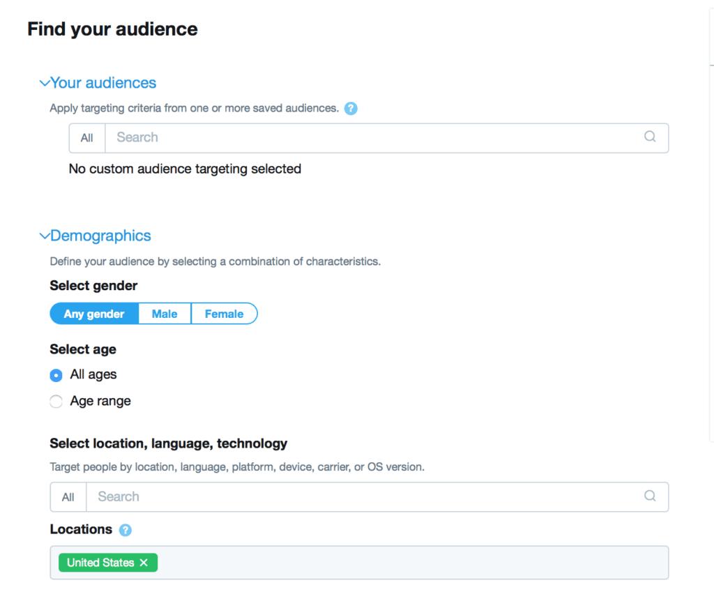 Как запустить рекламную кампанию в Twitter