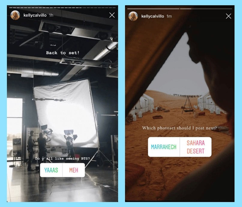 Опросы в Instagram: 6 креативных способов использования в рекламе