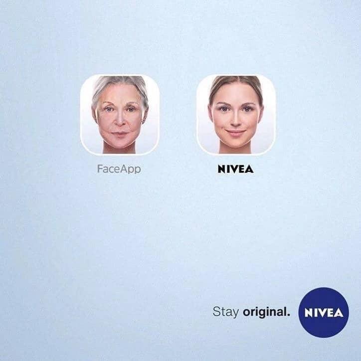 Как можно использовать FaceApp в рекламе