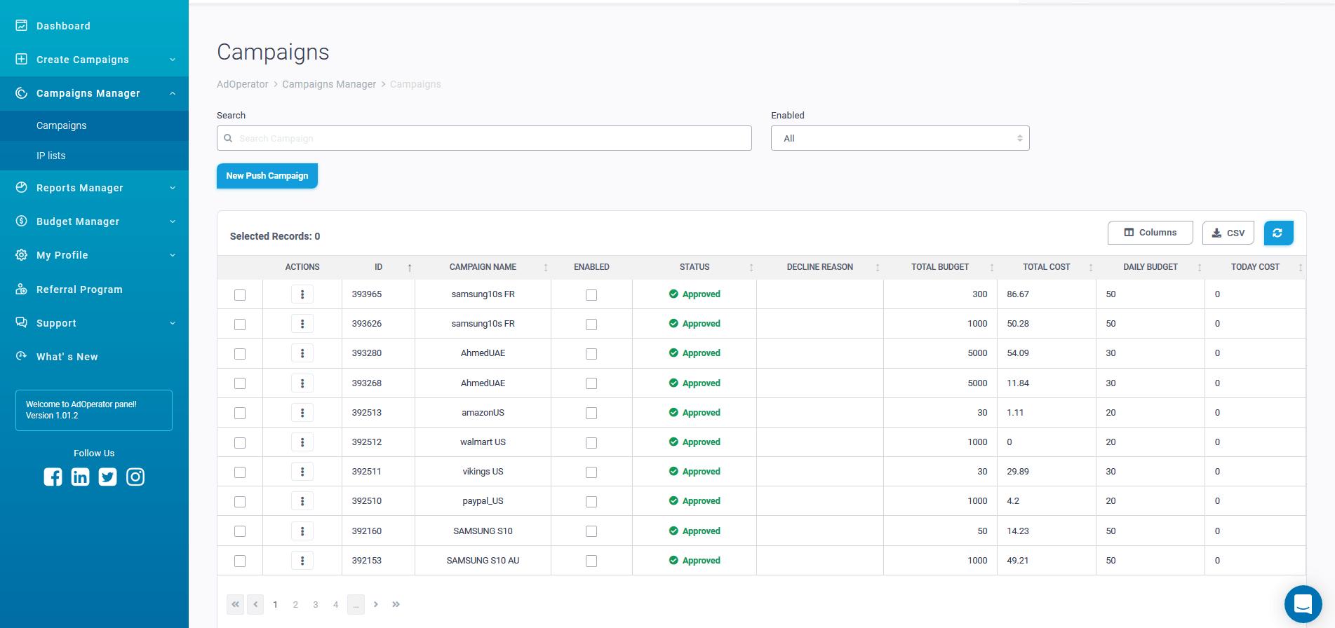 Обзор AdOperator. Удобная сеть push-уведомлений