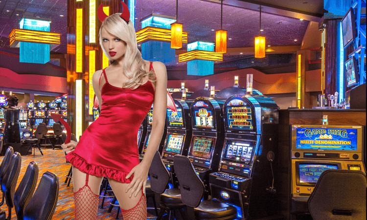 казино вулкан девушка