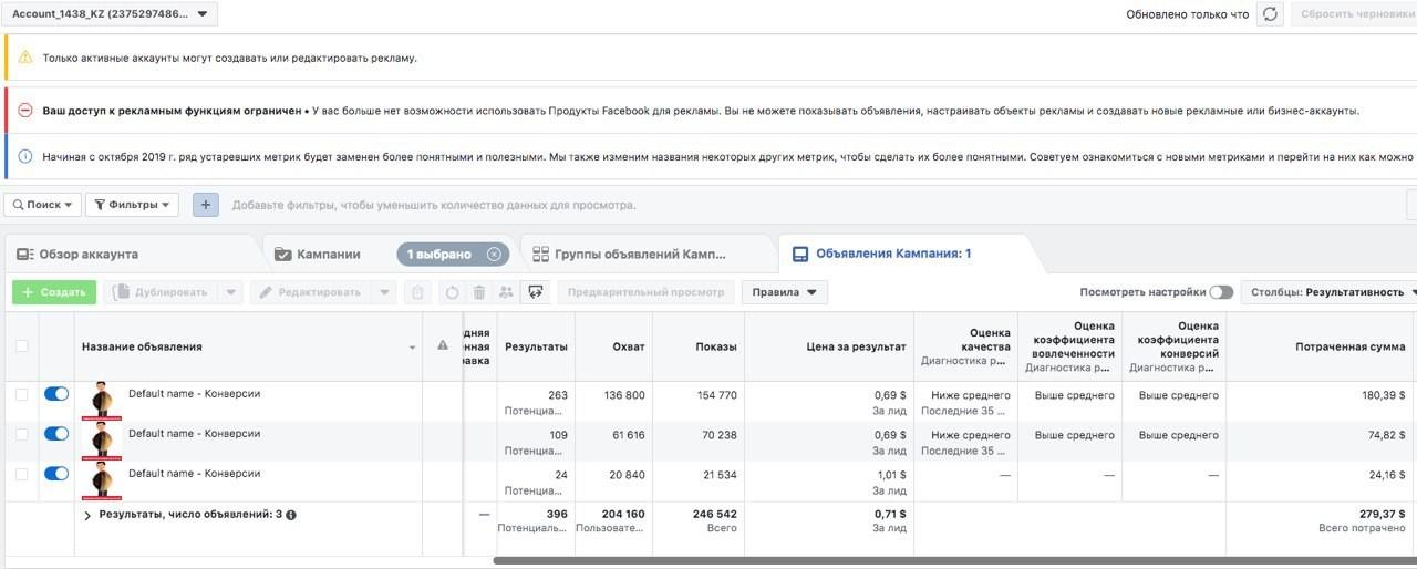 КЕЙС: льем с таргета Facebook на Verminex рублевый по Узбекистану (81.655)