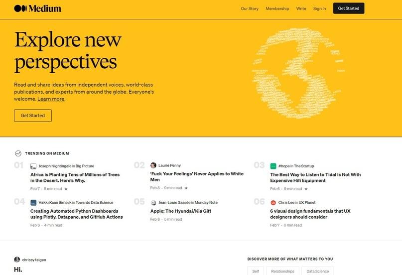 Буржовый аналог Яндекс.Дзен: как арбитражить через платформу Medium