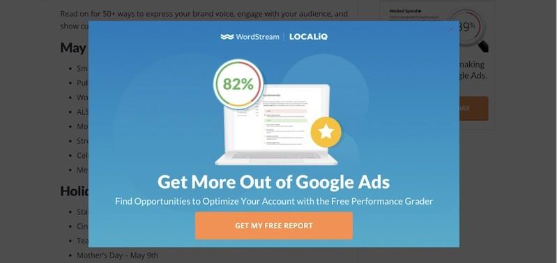 Как создать всплывающую рекламу, которая повысит ваш конверт и не будет никого раздражать